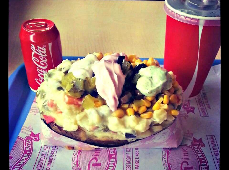13- Pink Kumpir&Pizza, Kızılay