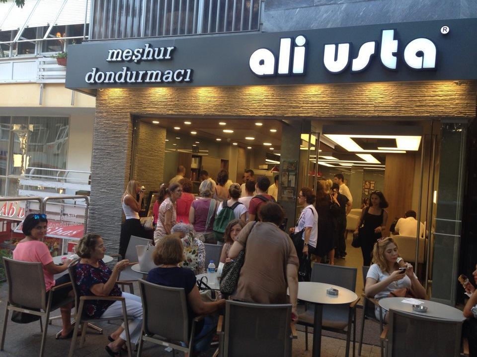 1. Dondurmacı Ali Usta