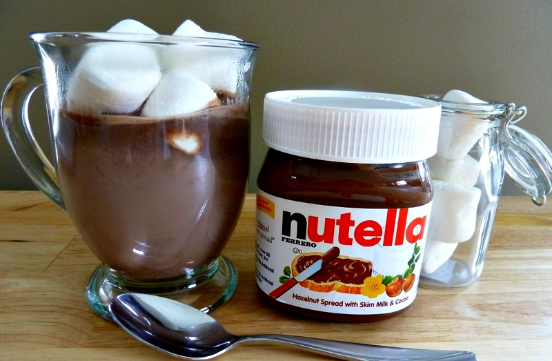 1- Sıcak Nutella
