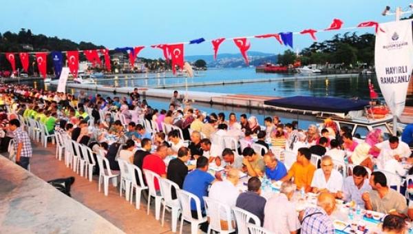 01-İstanbul Büyük Şehir Belediyesi İftar Çadırı