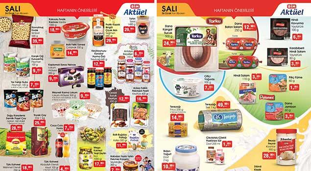 aktüel gurme ürünler kataloğu