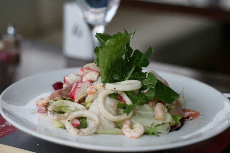 Litera - Deniz Ürünleri Salatası