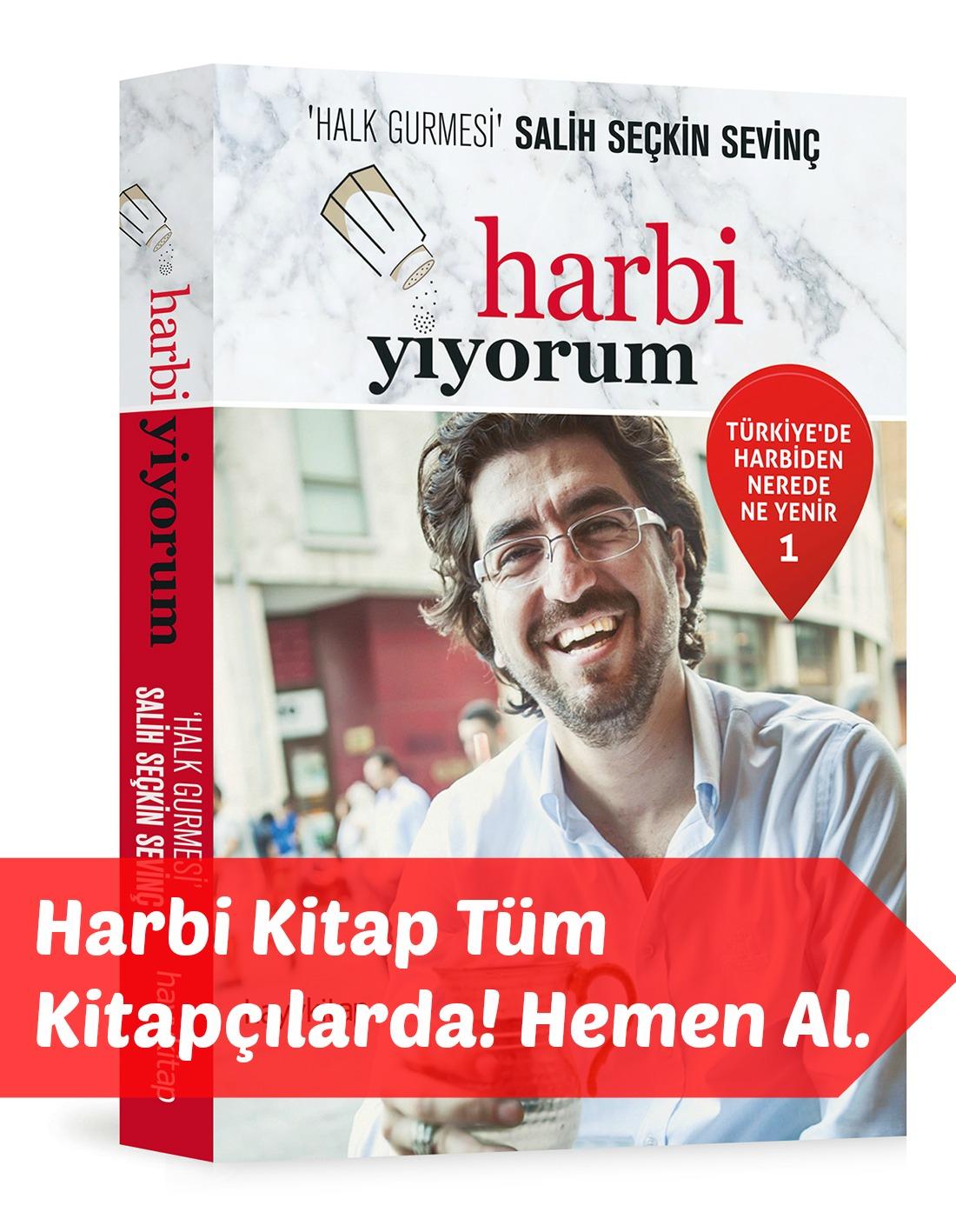Harbi Yiyorum Kitap - Türkiye'de Harbien Nerede Ne Yenir? - Tüm Kitapçılarda