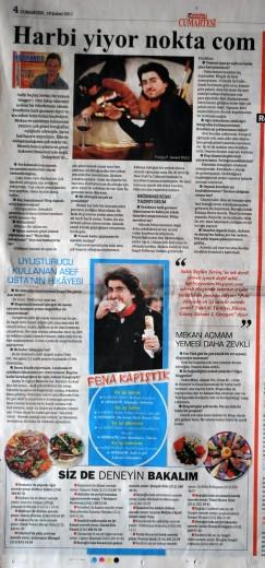 Savaş Özbey Harbiyiyorum.com Hürriyet Haber