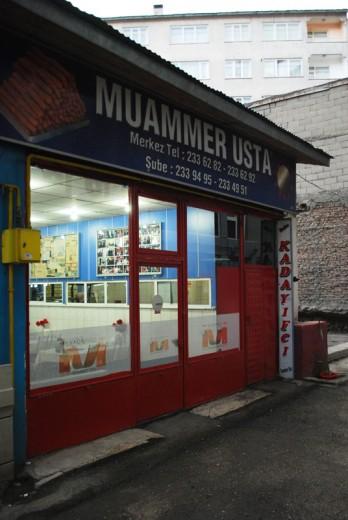 Kadayıf Dolması, Muammer Usta, Gürcükapı, Erzurum