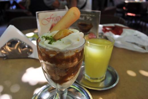 Kup Griye ve Limonata, Baylan Pastanesi, Kadıköy