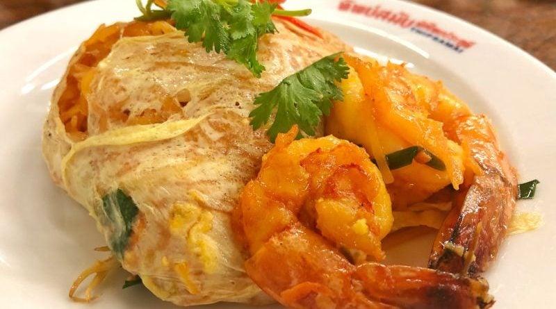 Tayland'ın en meşhur yemeği Pad Thai