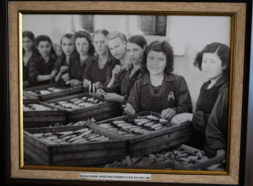 Alaeddin Konserve - Fabrikada Çalışan Genç Kızlar