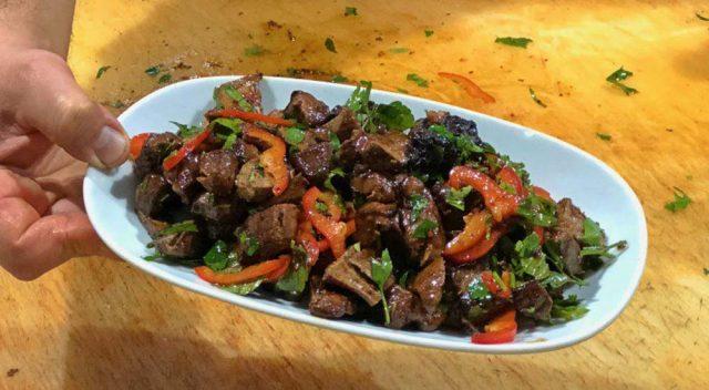 Antakya'da Ciğer Salatası Nerede Yenir? Alican Restoran, Hatay