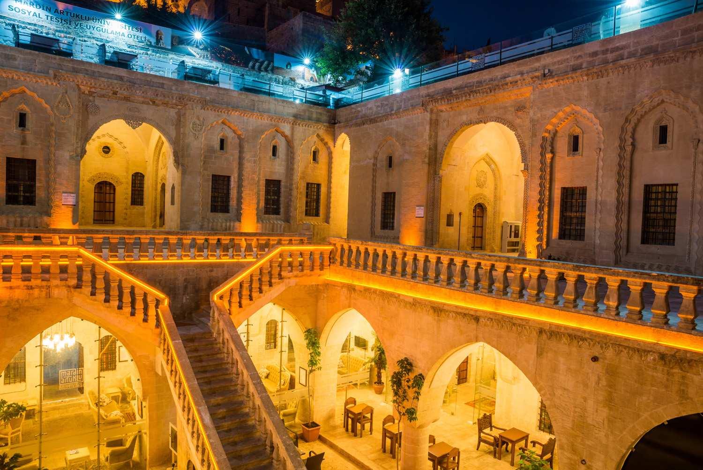 Mardin Bağdadi Restoran bina görüntüsü
