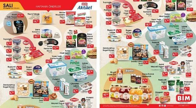 BİM 23 Haziran Aktüel Gurme Ürünler Kataloğu