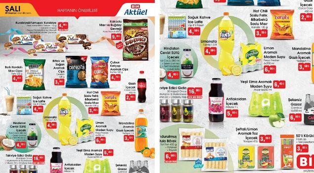 BİM 9 Haziran Aktüel Gurme Ürünler