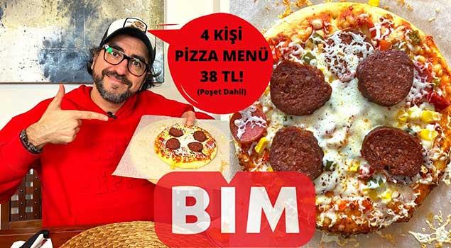 BİM'den Pizza Menüsü