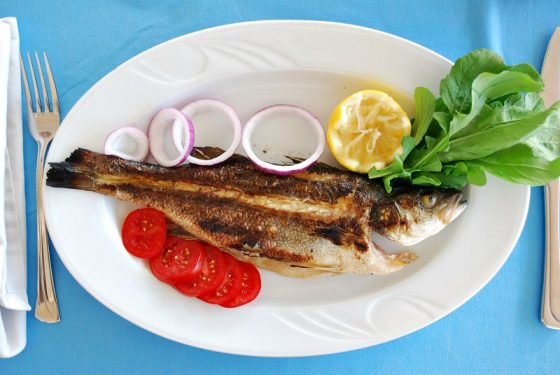 Deniz Levreği, Le Cafe Restaurant, Bodrum