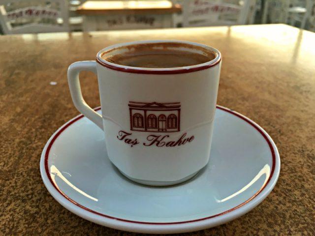 Türk Kahvesi - Taş Kahve Cunda