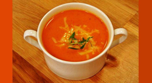 Domates çorbası tarifi | Sebze tatları ilaveli