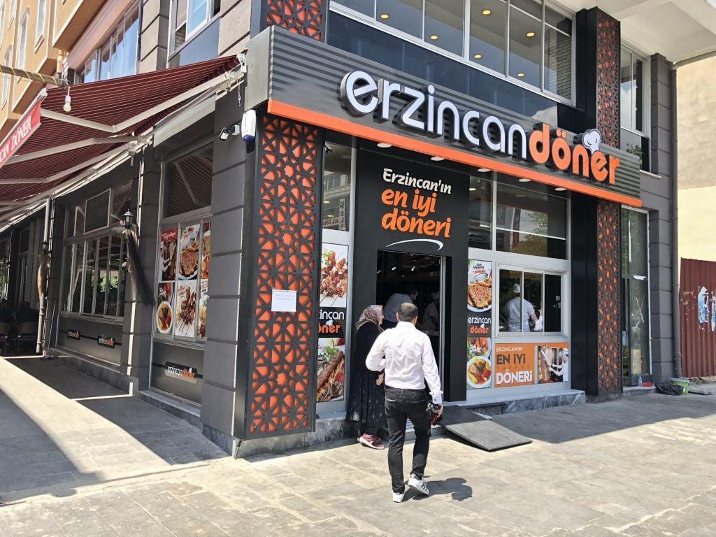 Erzincan'ın En İyi Et Döneri