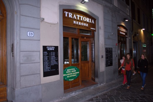 Trattoria Nerone, Floransa, Italya