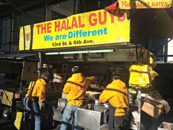The Halal Guys, Manhattan