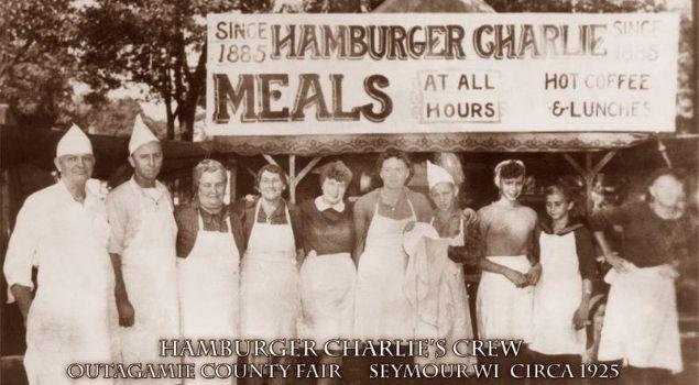 hamburgerin kökeni