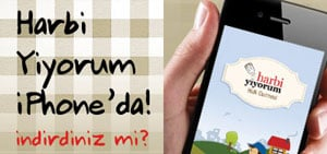 Harbiyiyorum iPhone App