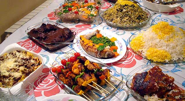 iran mutfağı