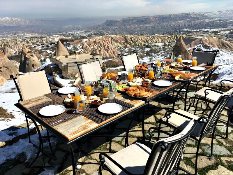 Kapadokya'da En iyi Kahvaltı