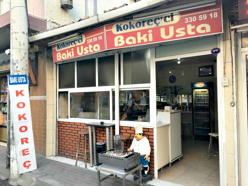 İzmir'de Kokoreç Nerede Yenir? Kokoreççi Baki Usta