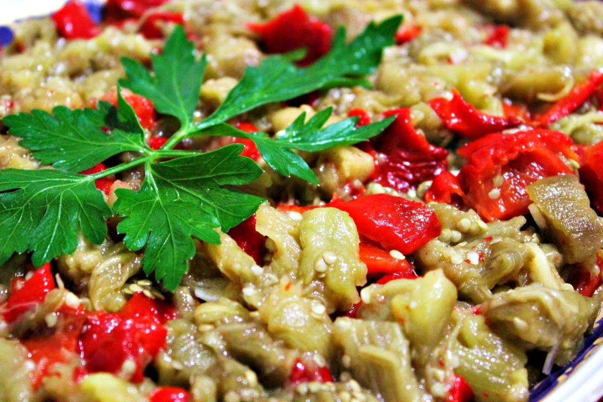kozlenmis-patlican-salatasi