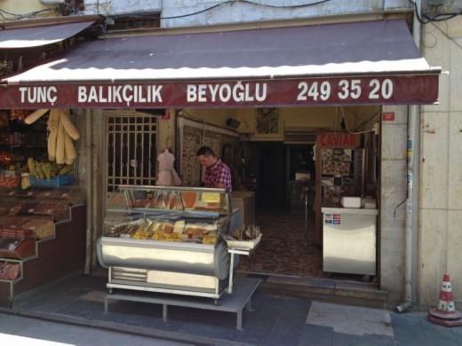 Tunç Balıkçılık, Balık Pazarı, Beyoğlu
