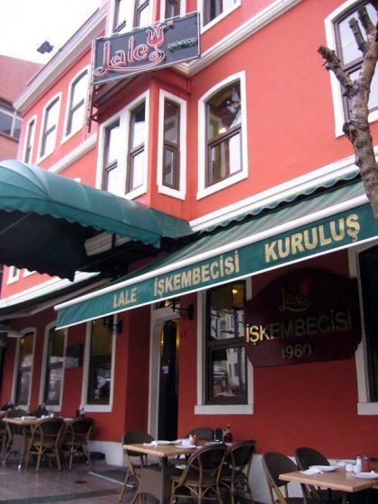 Lale İşkembecisi, Beyoğlu