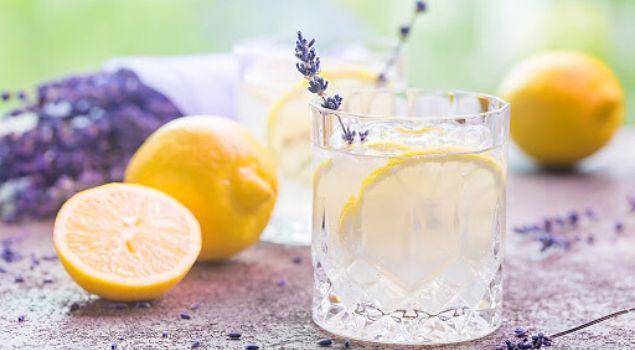 lavantalı naneli limonata