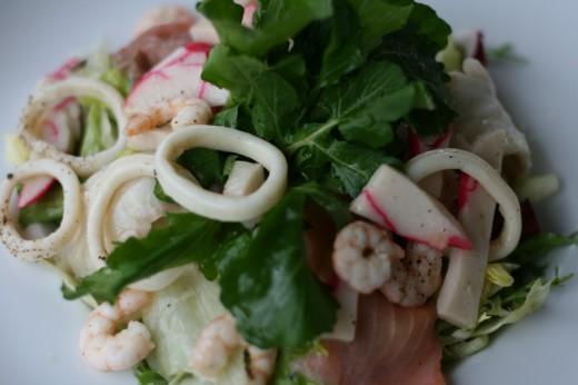 Litera Deniz Ürünleri Salatası