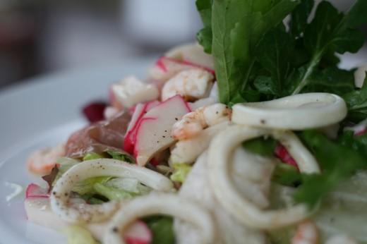 Deniz Ürünleri Salatası - Litera