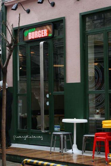 Mano Burger, Asmalımescit