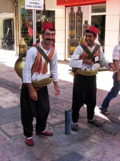 Meyan Kökü Şerbeti Satıcıları - Gaziantep