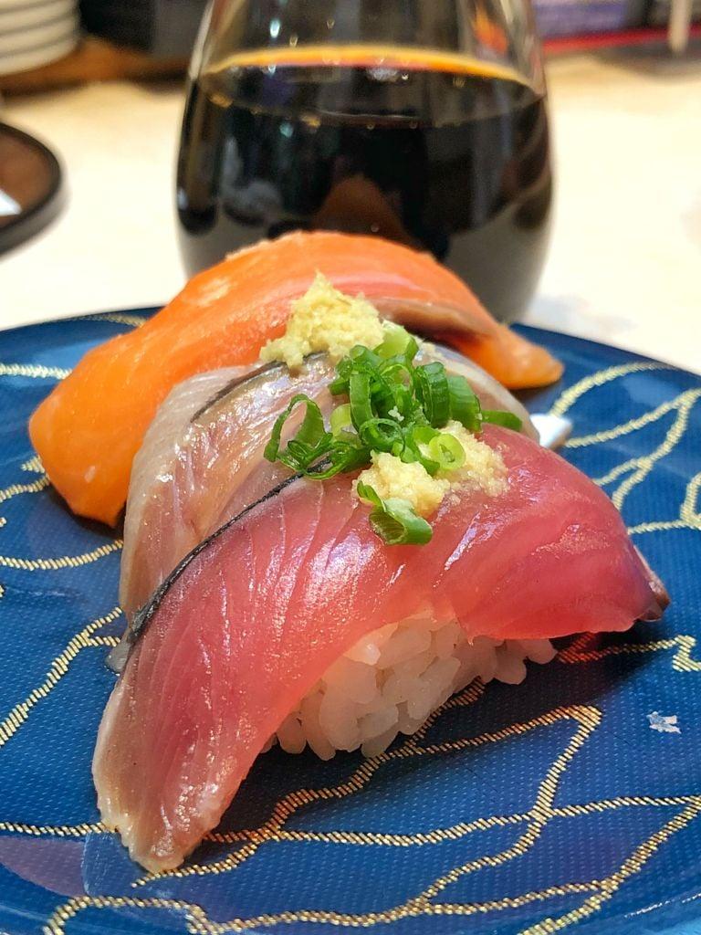Tsukijide En Iyi Belt Sushi Nerede Yenir Sushizanmai Tsukiji Fish