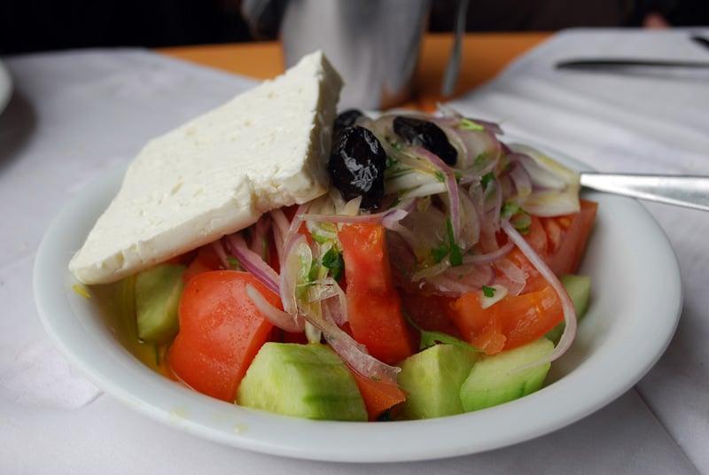 Greek Salad - Yunan Salatası / Orea Mitilini, Kavala-Yunanistan