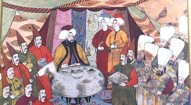 osmanlıların yemek yeme alışkanlıkları ve sofra adabı
