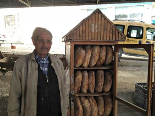 Patatesli Ekmek Satıcısı, Sandıklı, Afyon