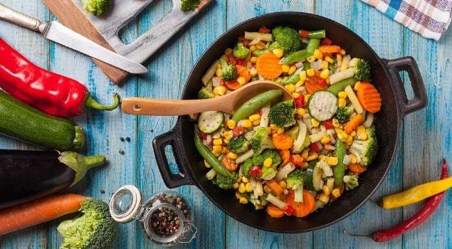pişen sebze yemekleri nasıl korunur