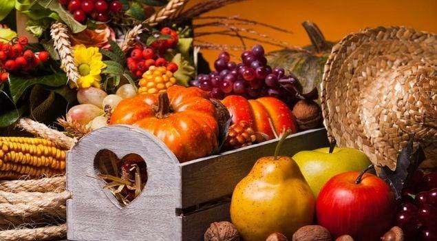 Sonbahar Sebze ve Meyveleri