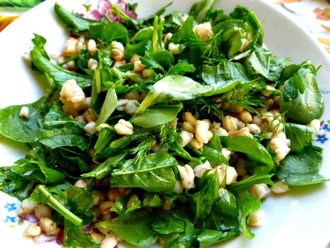 vegan-bugdayli-salata