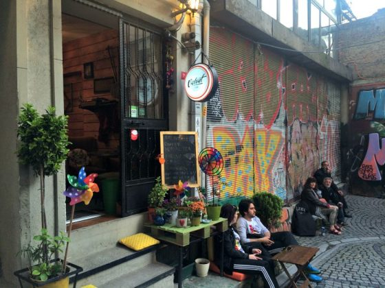 Velcet Cafe, Galata, Beyoğlu
